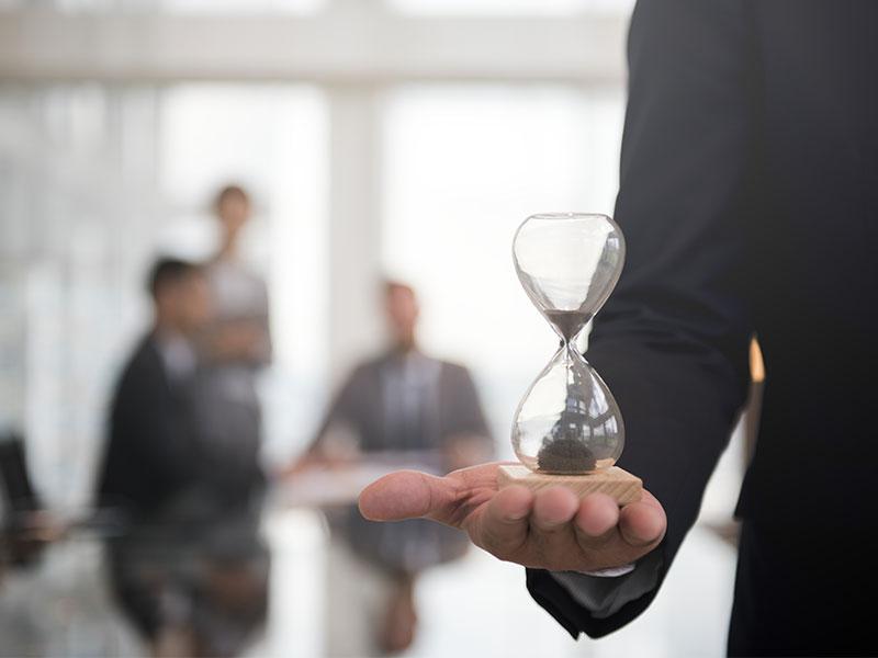 Gestão de tempo em pequenas empresas Cronograma