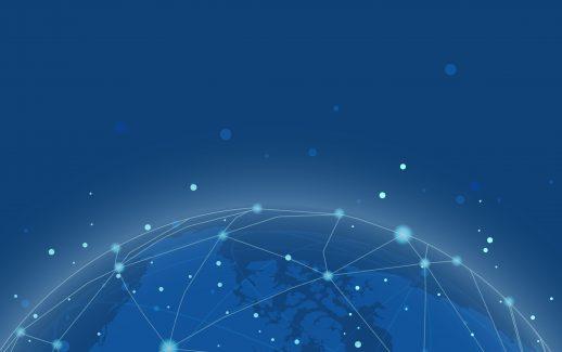 conexão-no-mundo-todo-background-azul-ilustração-vetor